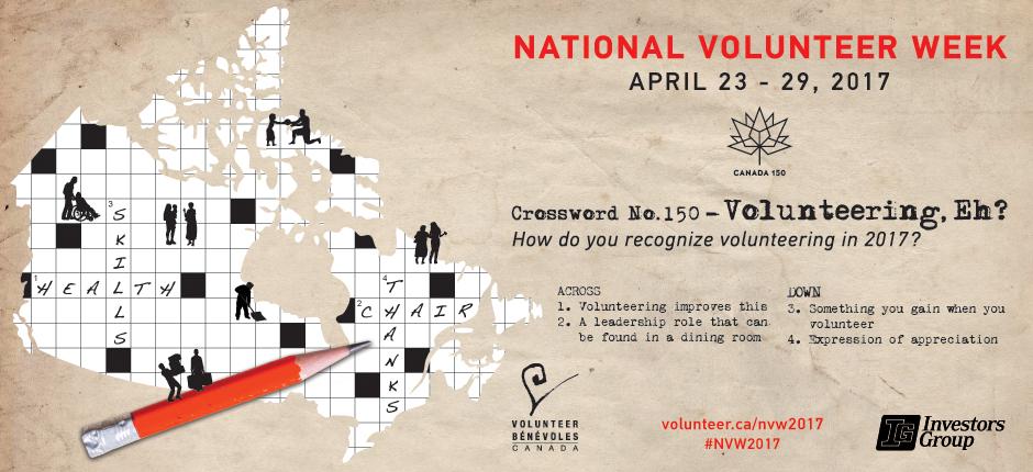 National volunteer week 2017 banner