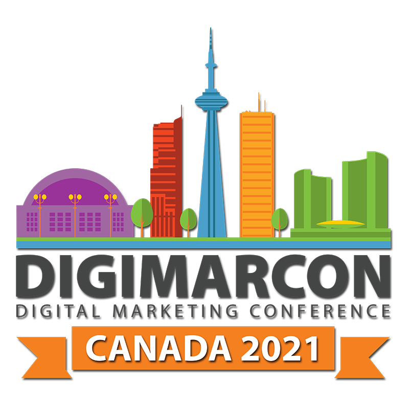 DigiMarCon Canada 2021 - Digital Marketing, Media and Advertising Conference & Exhibition Logo